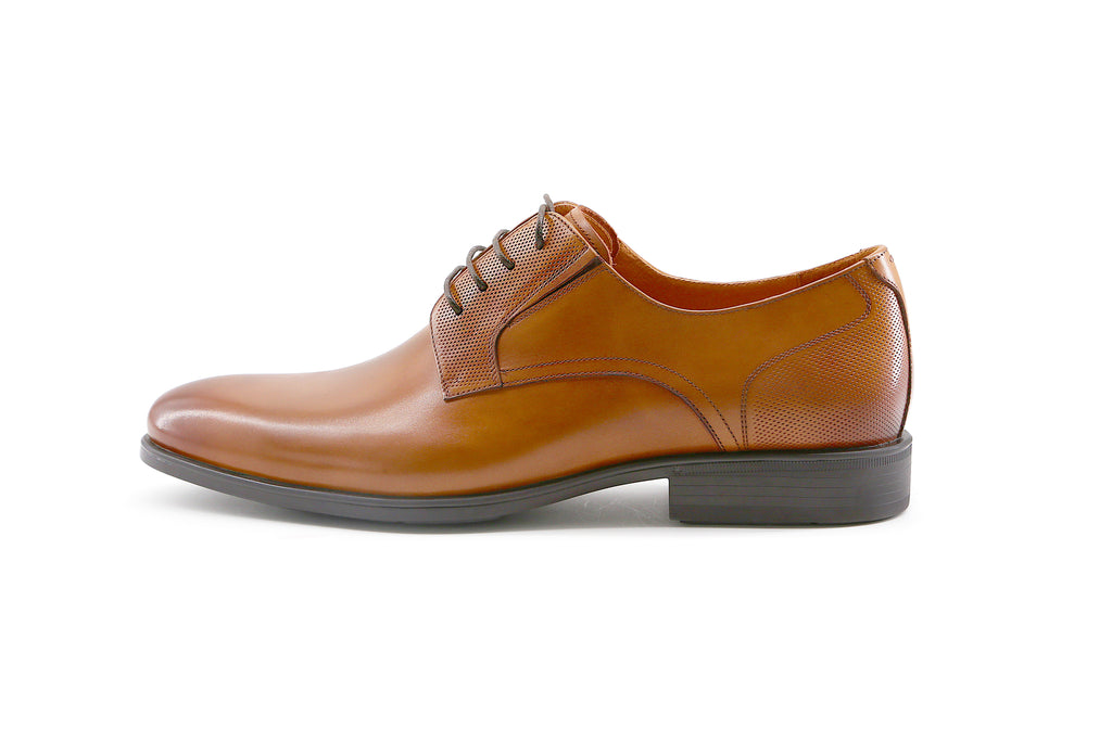 Men's Leather Shoes - Brown 1M31976 BRL