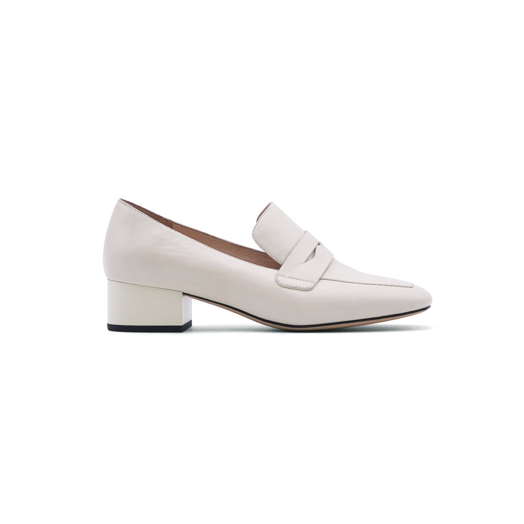 Heeled Loafers - Off White 1T43002OWK