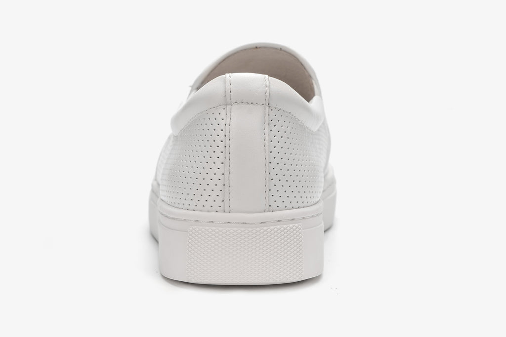 Slip on Sneakers - White