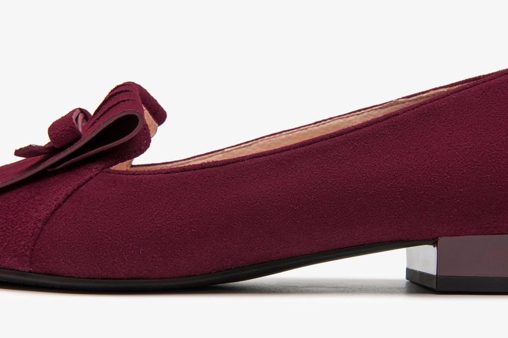 Loafers with Tassel Detail - Burgundy AT17213 BOS