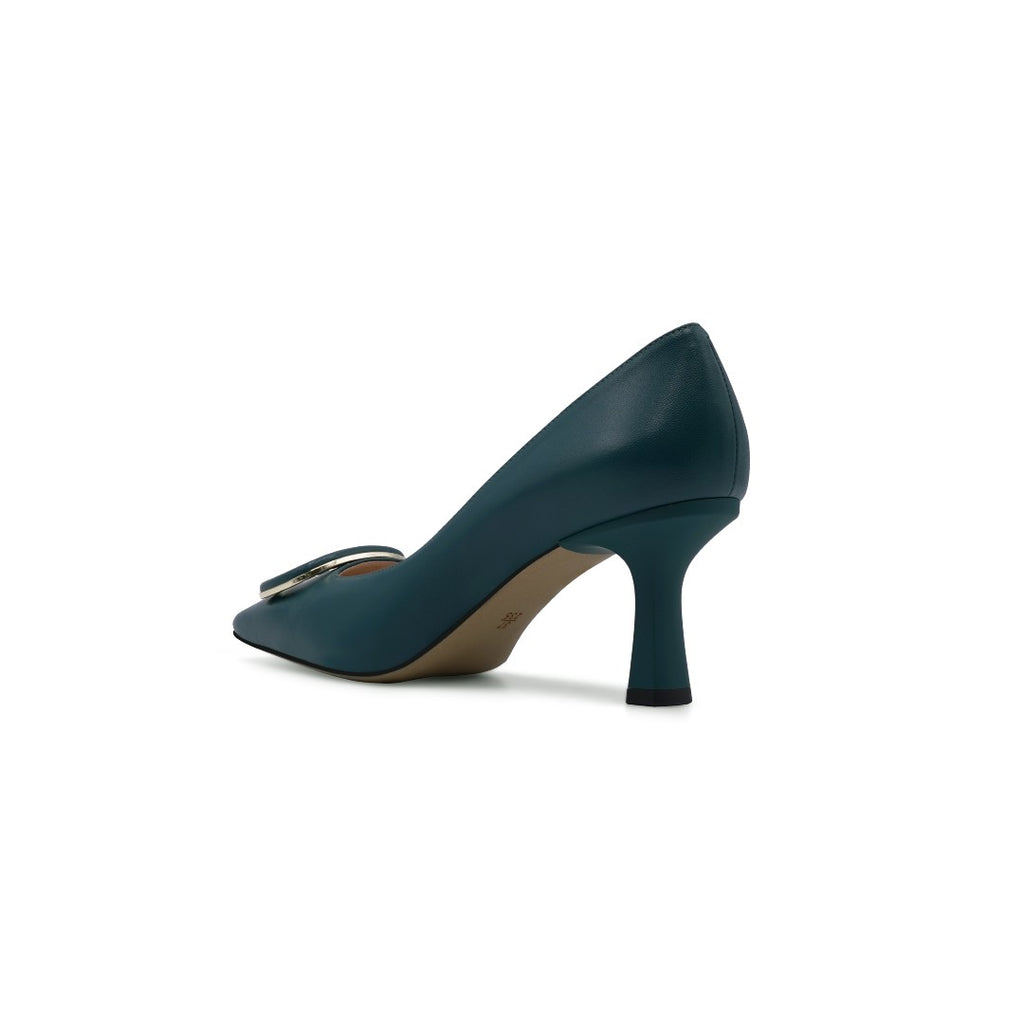 Buckle Pumps - Dark Green 1T70901DNK
