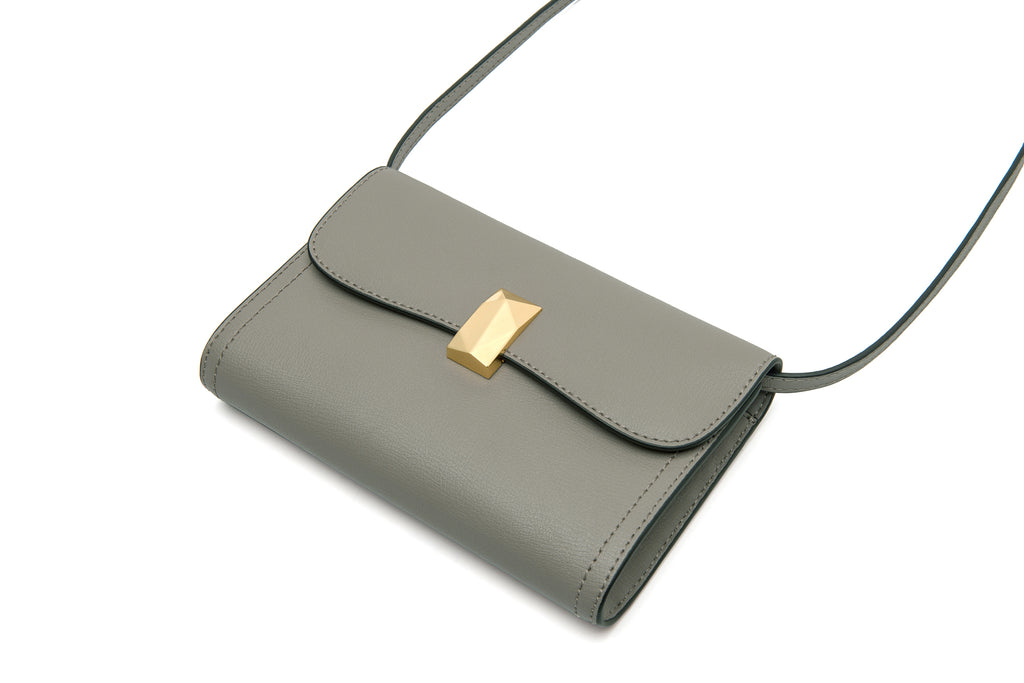 Leather Crossbody Bag - Tapue ATH7627