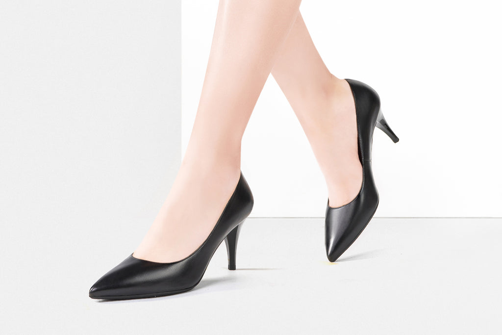 Patent Leather Pumps - Black