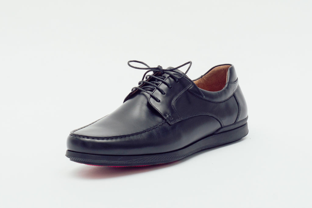 Smart Leather Shoes (Men) - Black