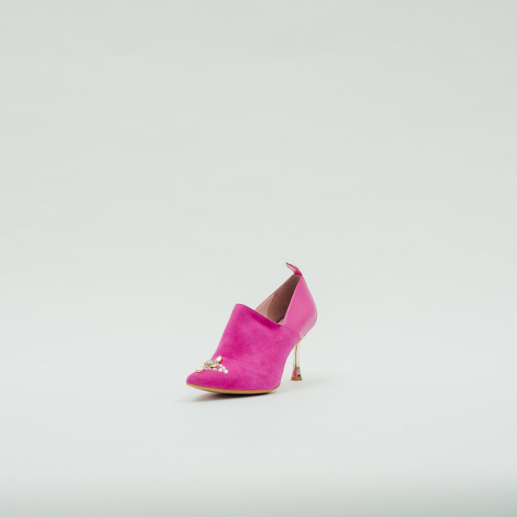 LR Pumps with Crystal Detail - Pink 9T72395PNS