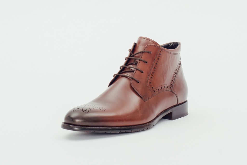 Leather Ankle Boots (Men) - T.Moro