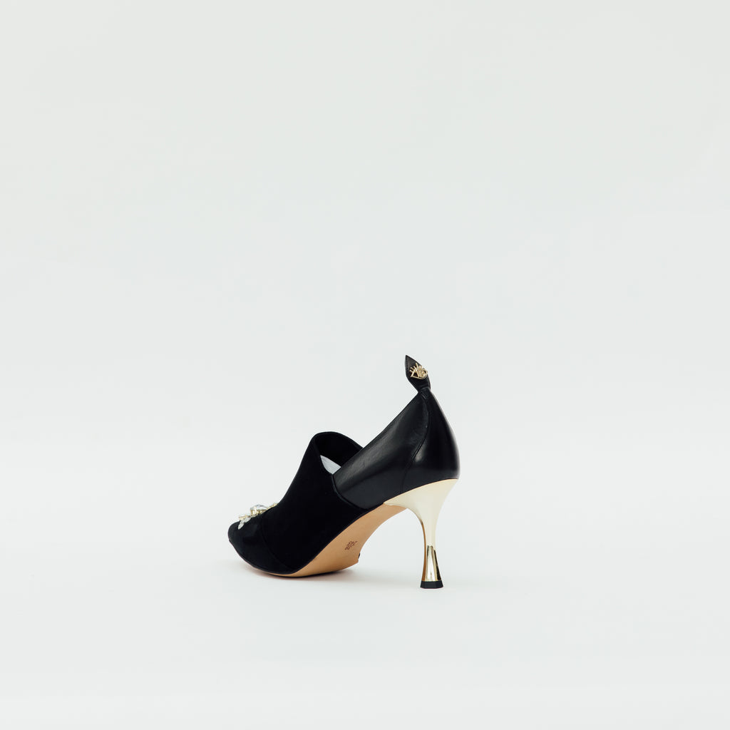 LR Pumps with Crystal Detail - Black 9T72395BKS