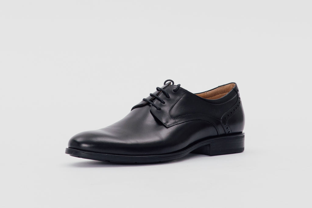 Classic Derby Shoes (Men) - Black