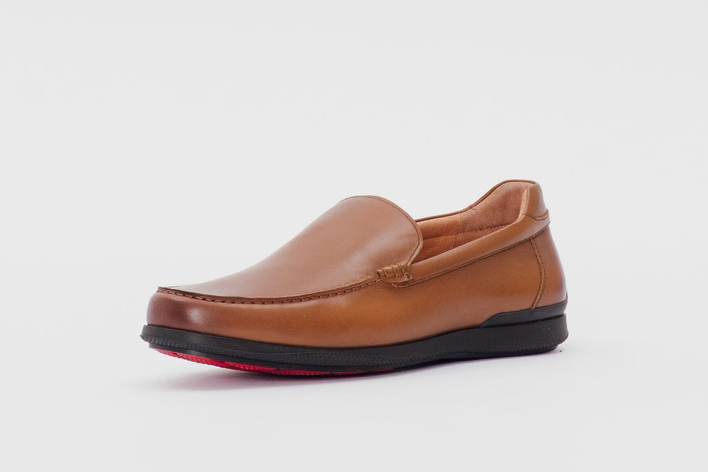 Leather Loafers (Men) - Brown