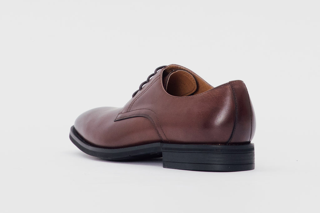 Leather Derby Shoes (Men) - T.moro