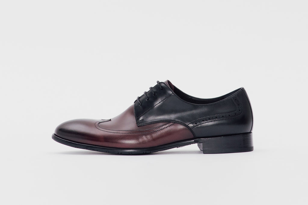 Smart Leather Shoes (Men) - Bordo