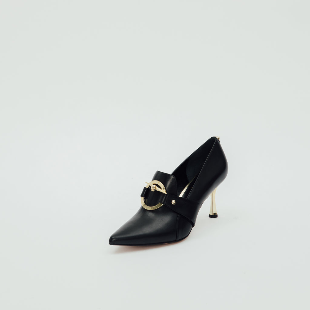 LR Pumps with Buckle Detail - Black 9T72390BKL