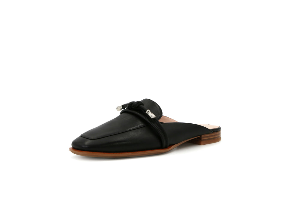 Leather Mules - Black 1M16501 BKL