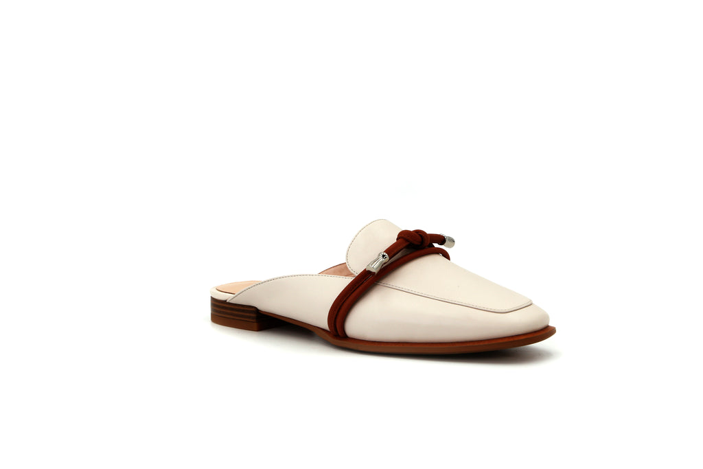 Leather Mules - Beige 1M16501 BEL