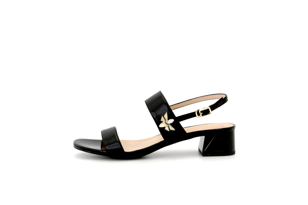Leather Sandals - Black 1M33904 BKK