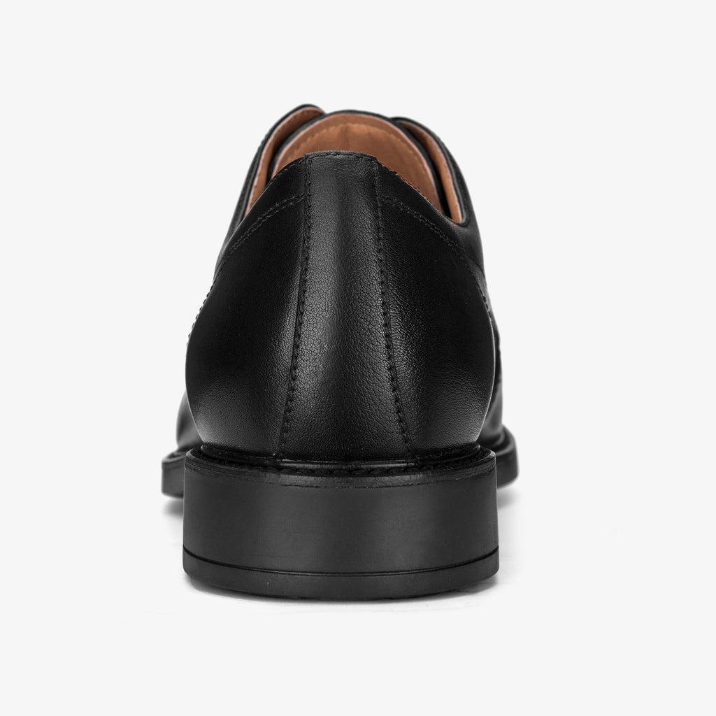 Men's Leather Shoes - Black 1MM51805 BKL