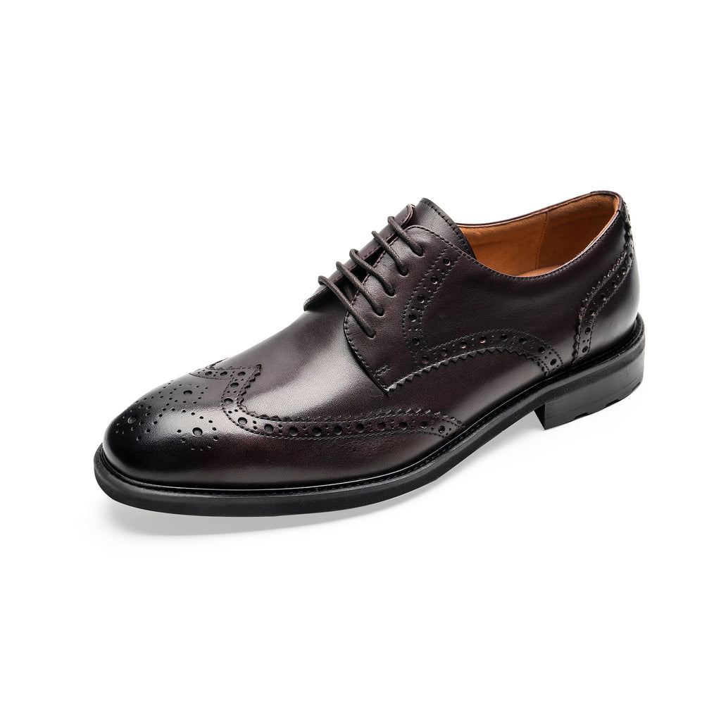 Men's Leather Shoes - Brown 1TM48201 TML