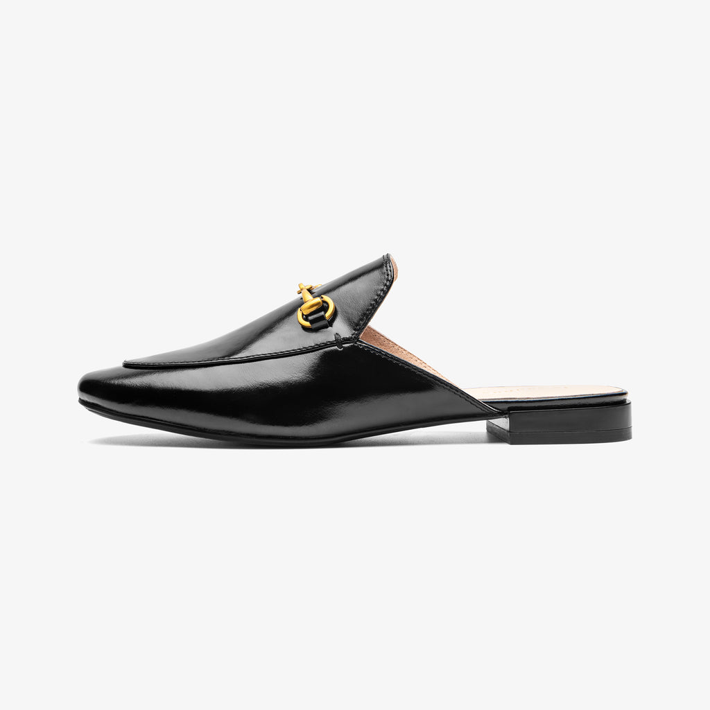 Mules with buckle detail - Black 2M09601BKL