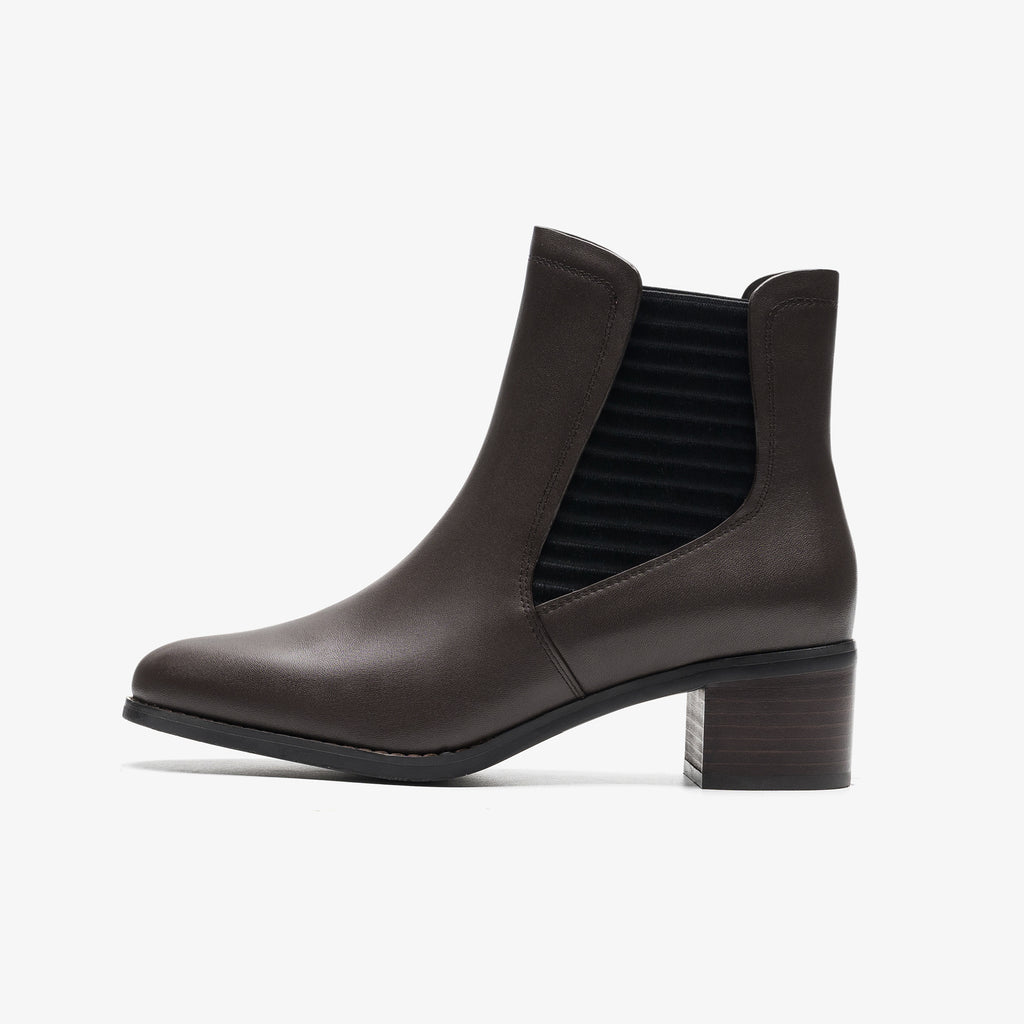 Leather Chelsea Boots - Brown 9T59907P BRL