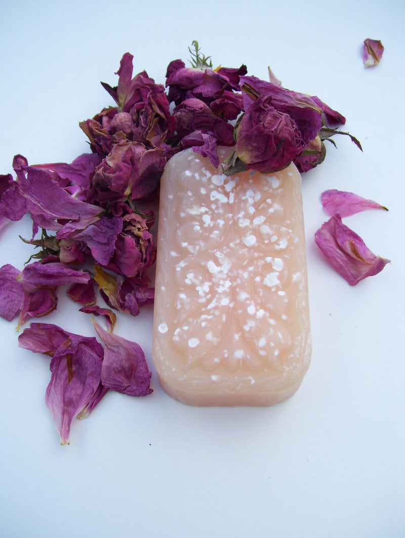 Al WarD & Lotus Soap - Arabian Red Rose and Indian Lotus Exotic, Feminine and Soft for Girls or Women