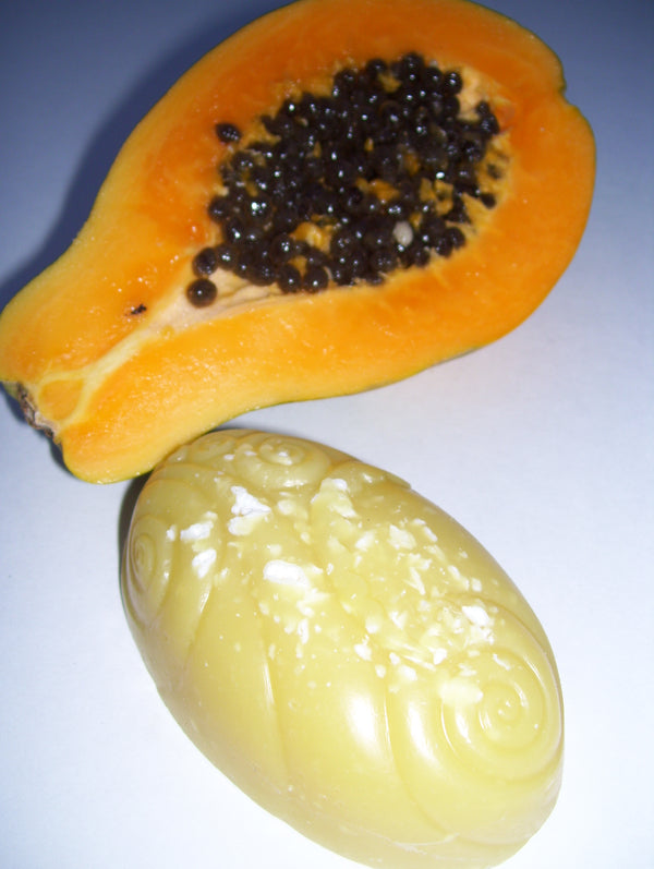 Papaya Coconut- Papaya Fruit Enzyme Oils with Organic Coconut Oil. Perfect for the whole family! Fruity, Fresh scent. 4oz