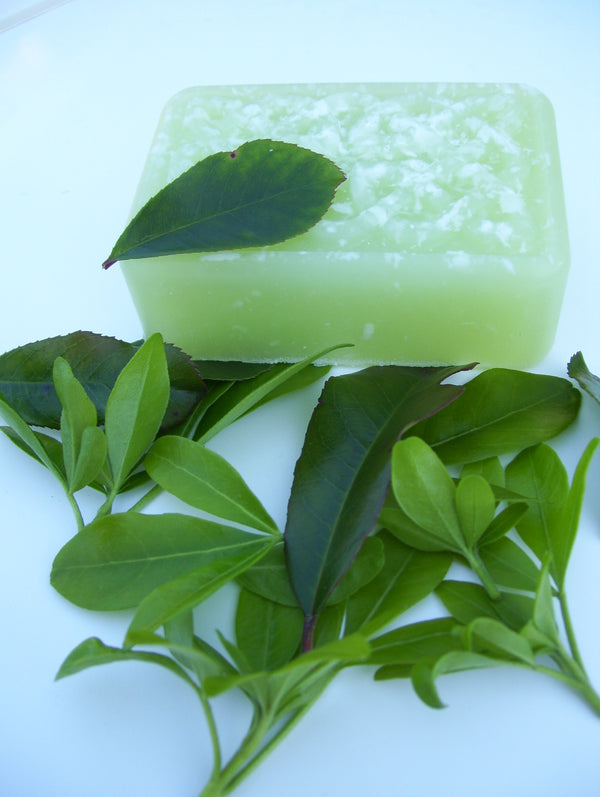 Green Tease - Refreshing, Clean, Spicy, Green scent with a floral note that stimulates the senses!  5oz bar