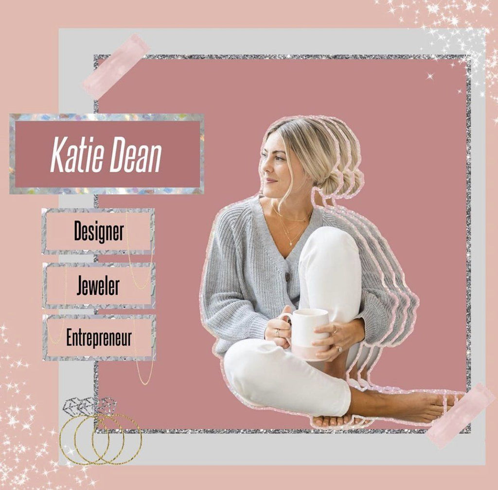 Salt and Pepper Podcast, Katie Dean interview, female founder of Katie Dean Jewelry