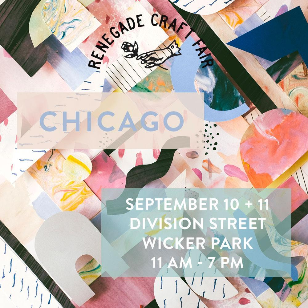RENEGADE CRAFT FAIR: Chicago + Denver!