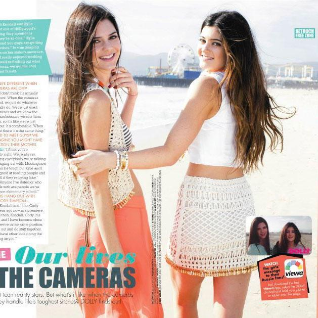 Kylie & Kendall Jenner: Dolly Mag