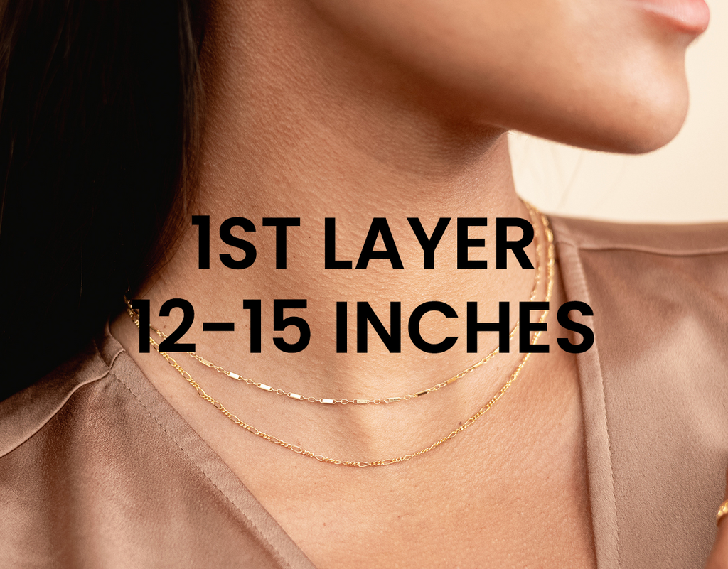 1st dainty necklace layers, Katie Dean Jewelry handmade in the USA
