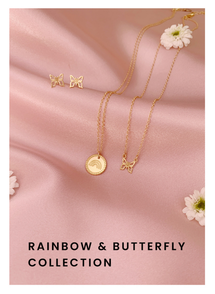 Rainbow and Butterfly Collection by Katie Dean Jewelry