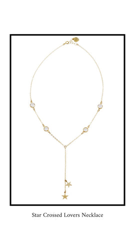 Katie Dean Jewelry Star Crossed Lovers Necklace