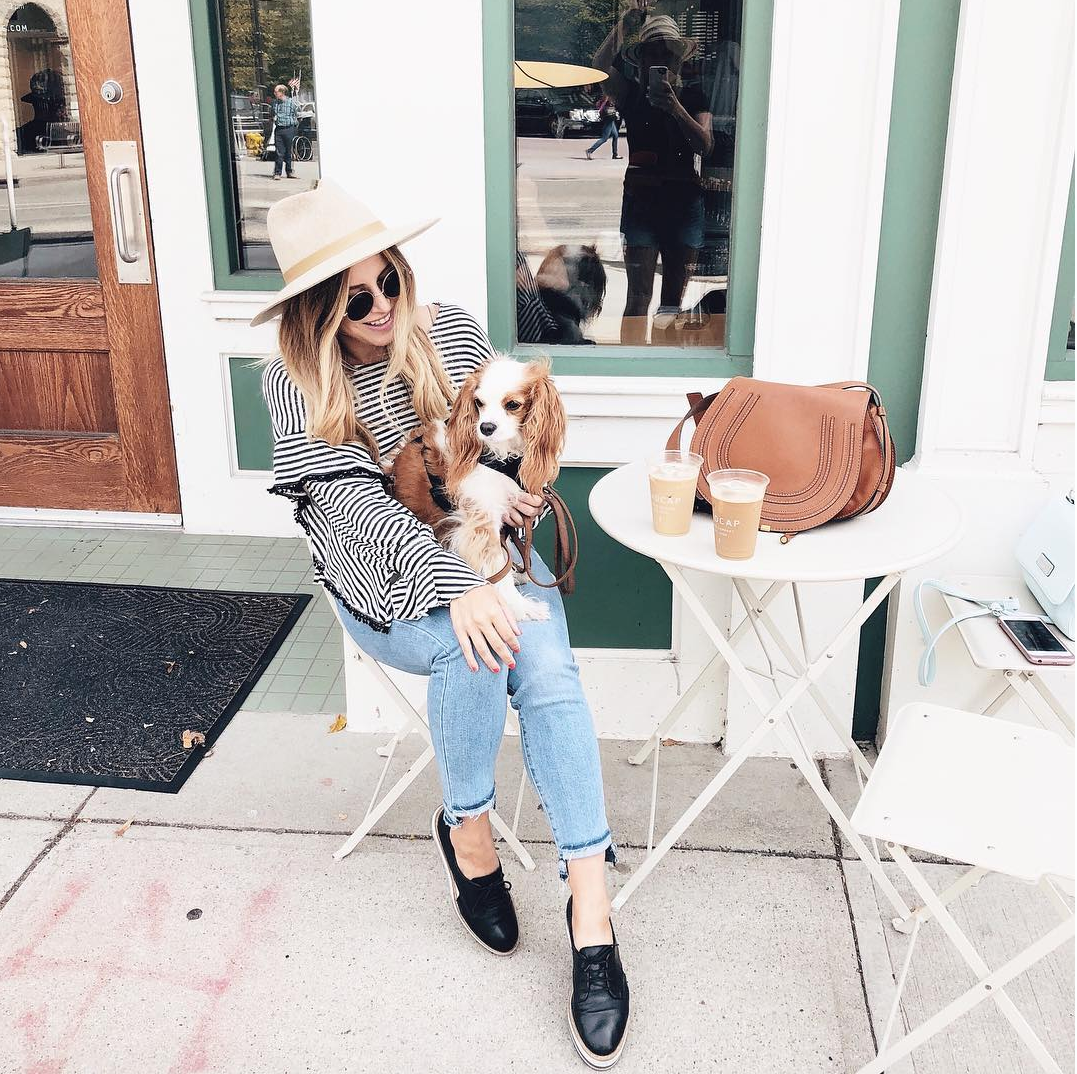 Andrea Kerbuski, fashion and lifestyle blogger from Michigan