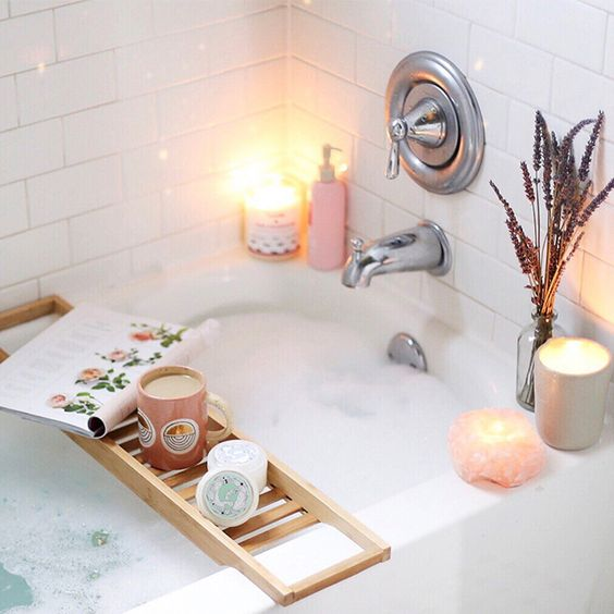 Bath time inspiration, how to stay positive in challenging times