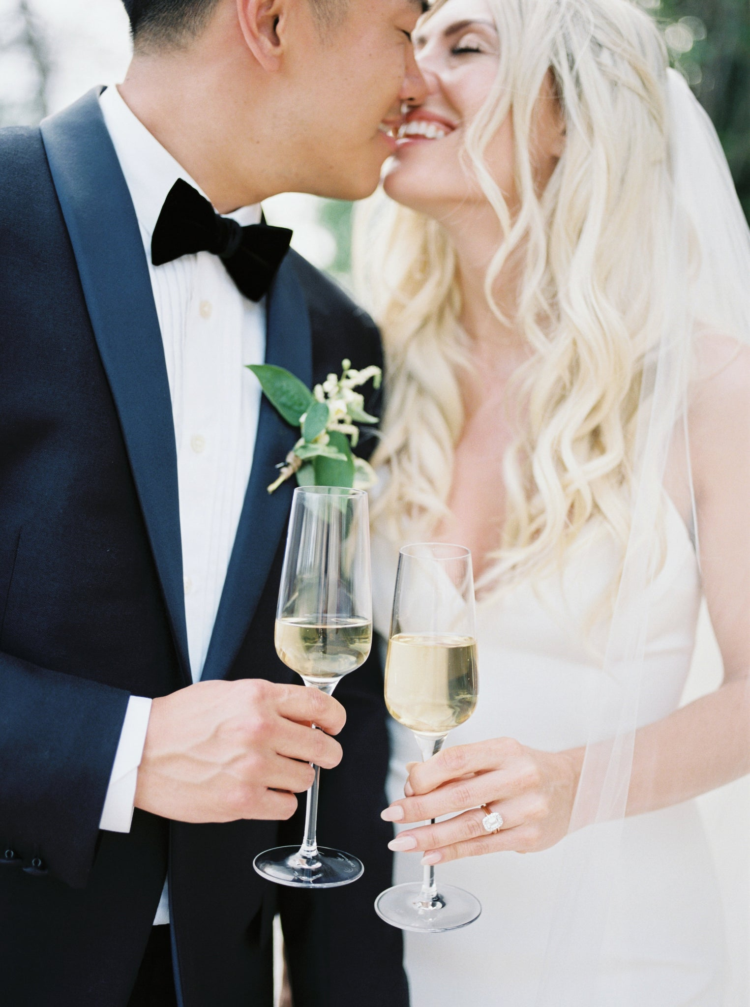 Katie Dean Jewelry romantic destination wedding at a chateau, Provence, France, bride and groom