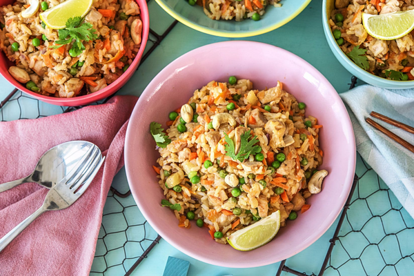 Chicken Fried Rice Recipe, picture by Hello Fresh