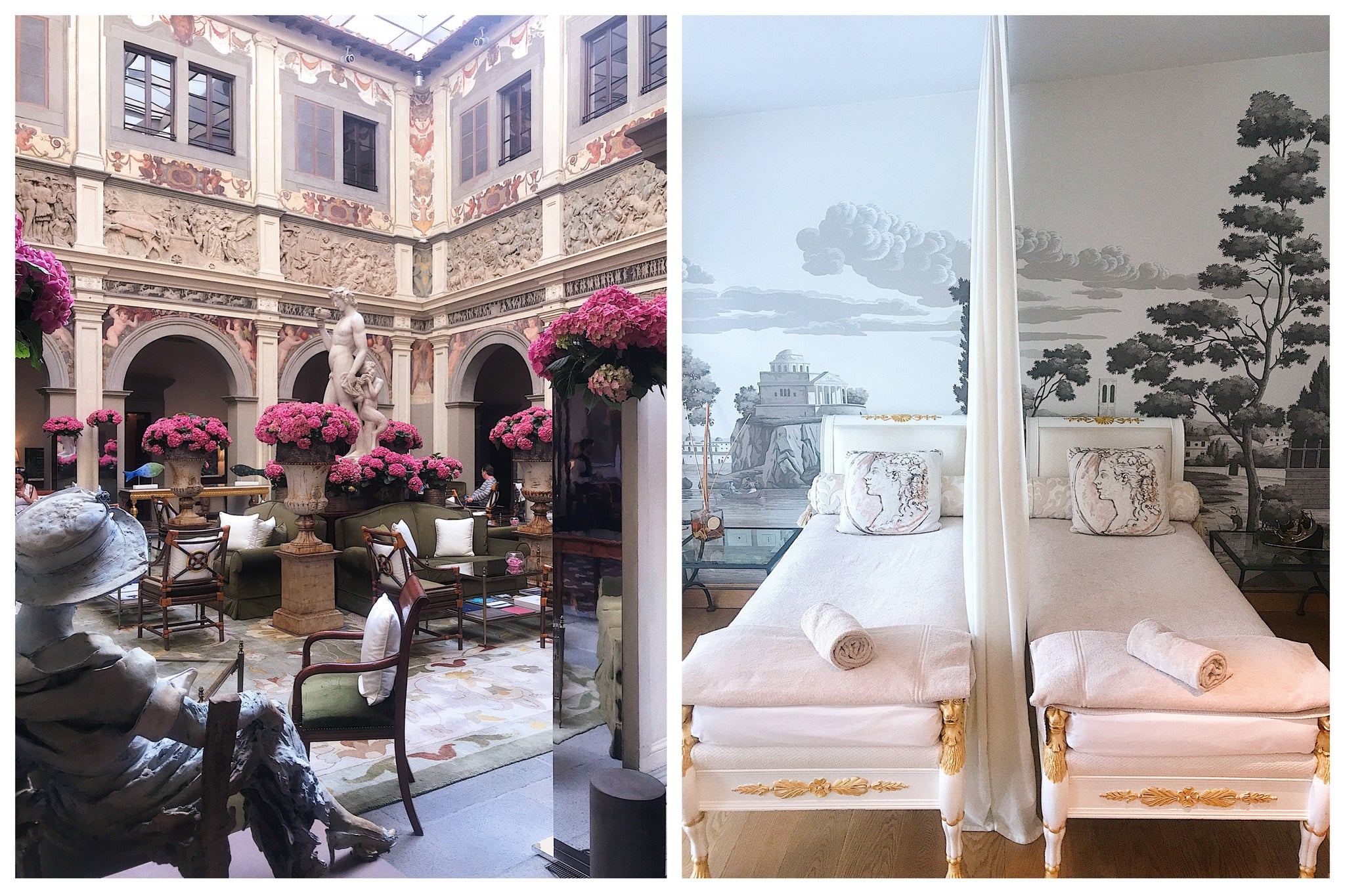 Four Season Hotel, Florence Italy Katie Dean travel guide