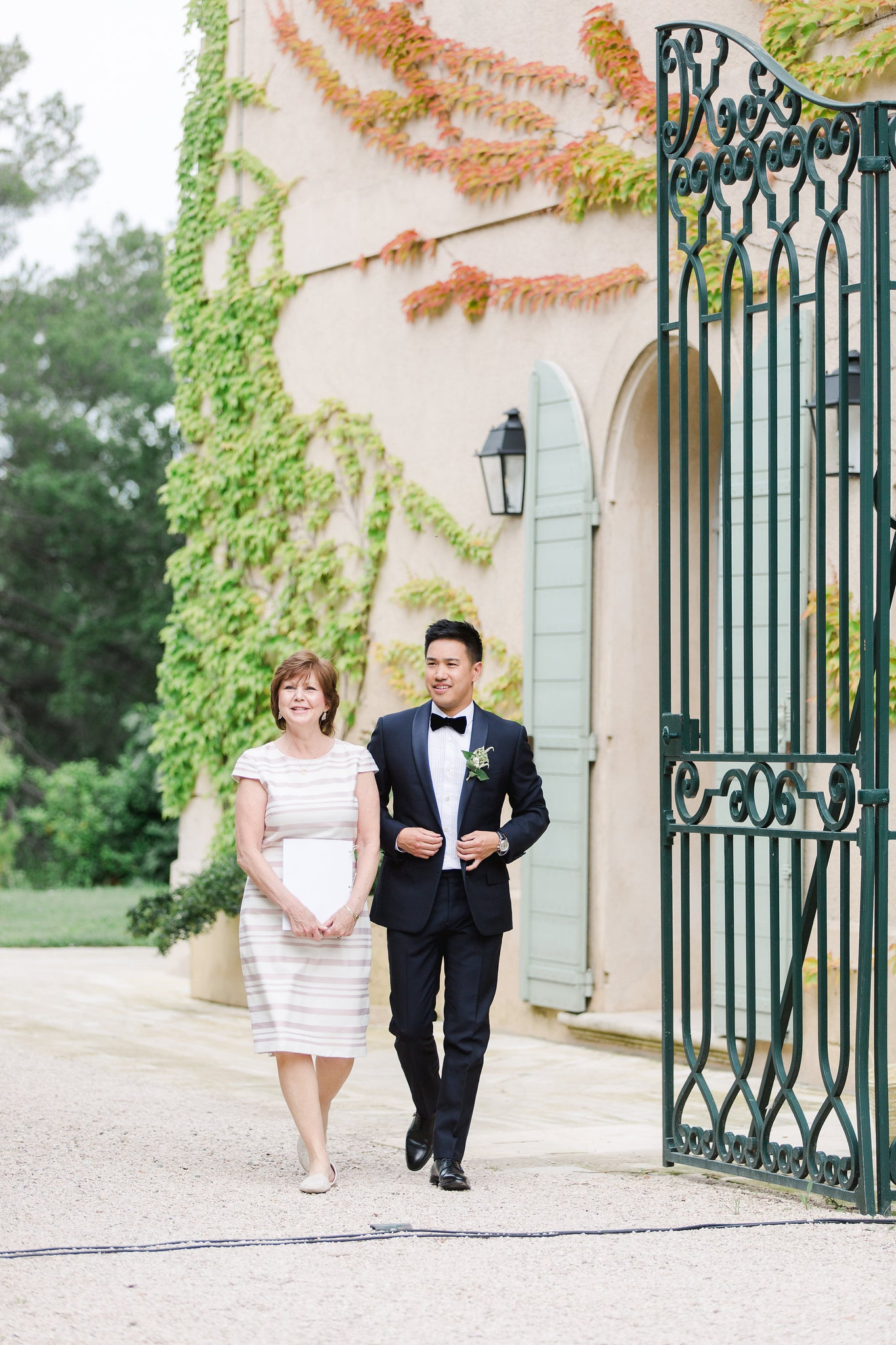 Katie Dean + Jon Tam Destination wedding, Provence, France Wedding