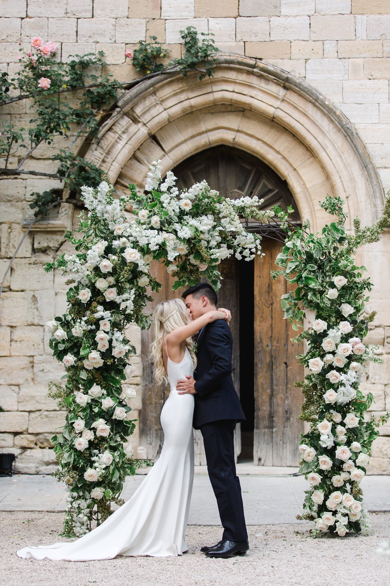 Katie Dean + Jon Tam Destination wedding, Provence, France Wedding, ceremony