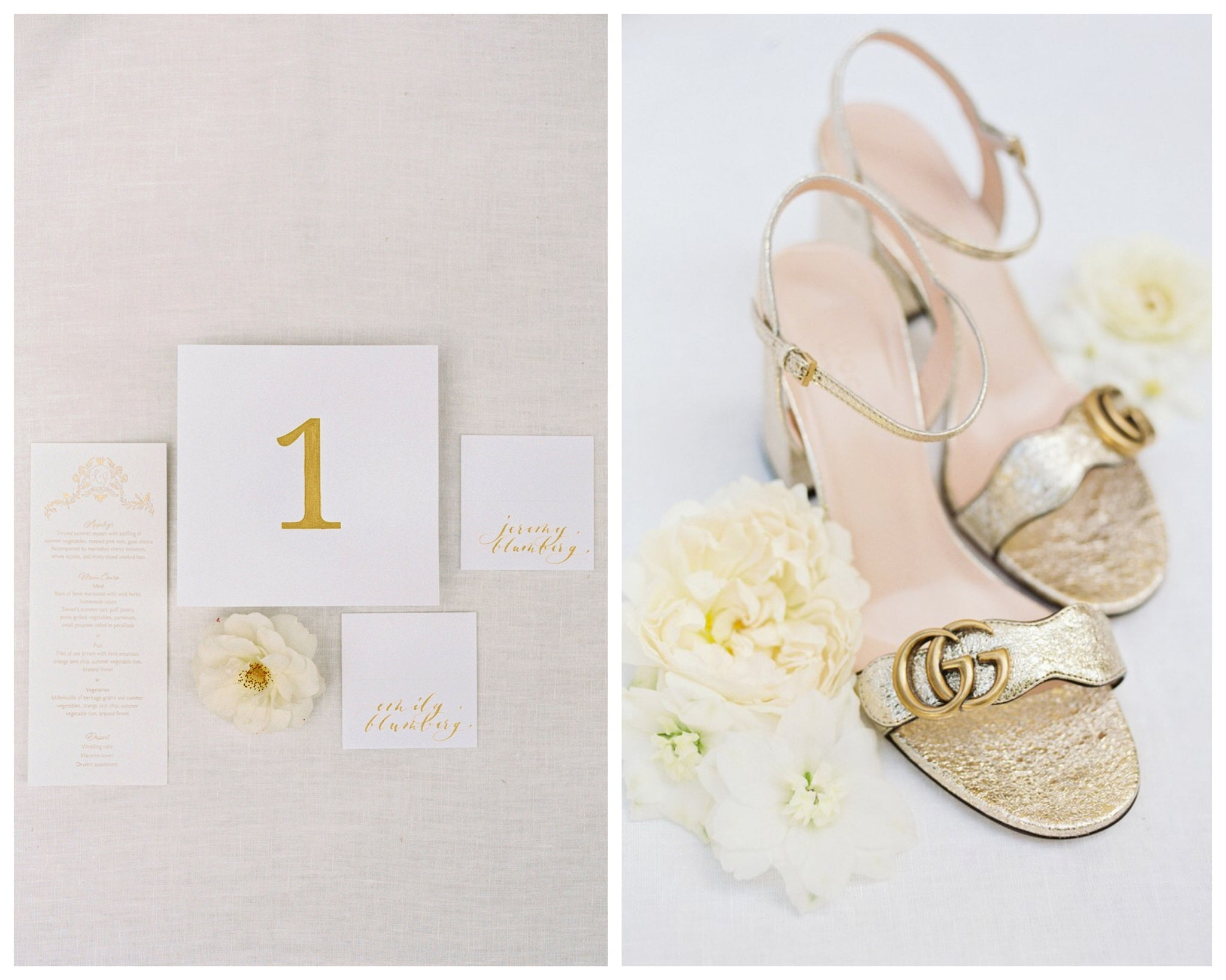 Katie Dean Jewelry romantic destination wedding at a chateau, Provence, France, paper goods + shoes, details
