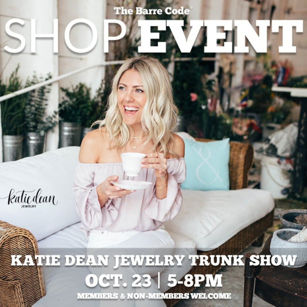 Barre Code East Lansing, Katie Dean Jewelry Pop Up Shop