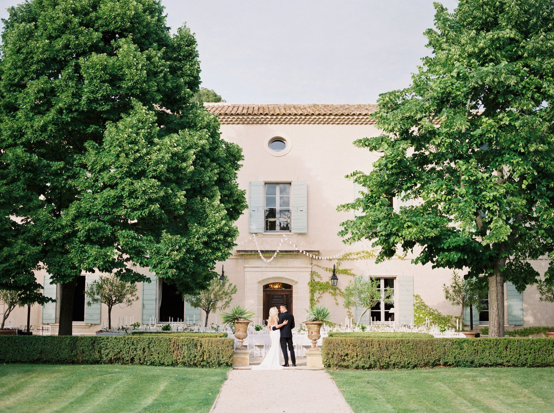Katie Dean Jewelry romantic destination wedding at a chateau, Provence, France