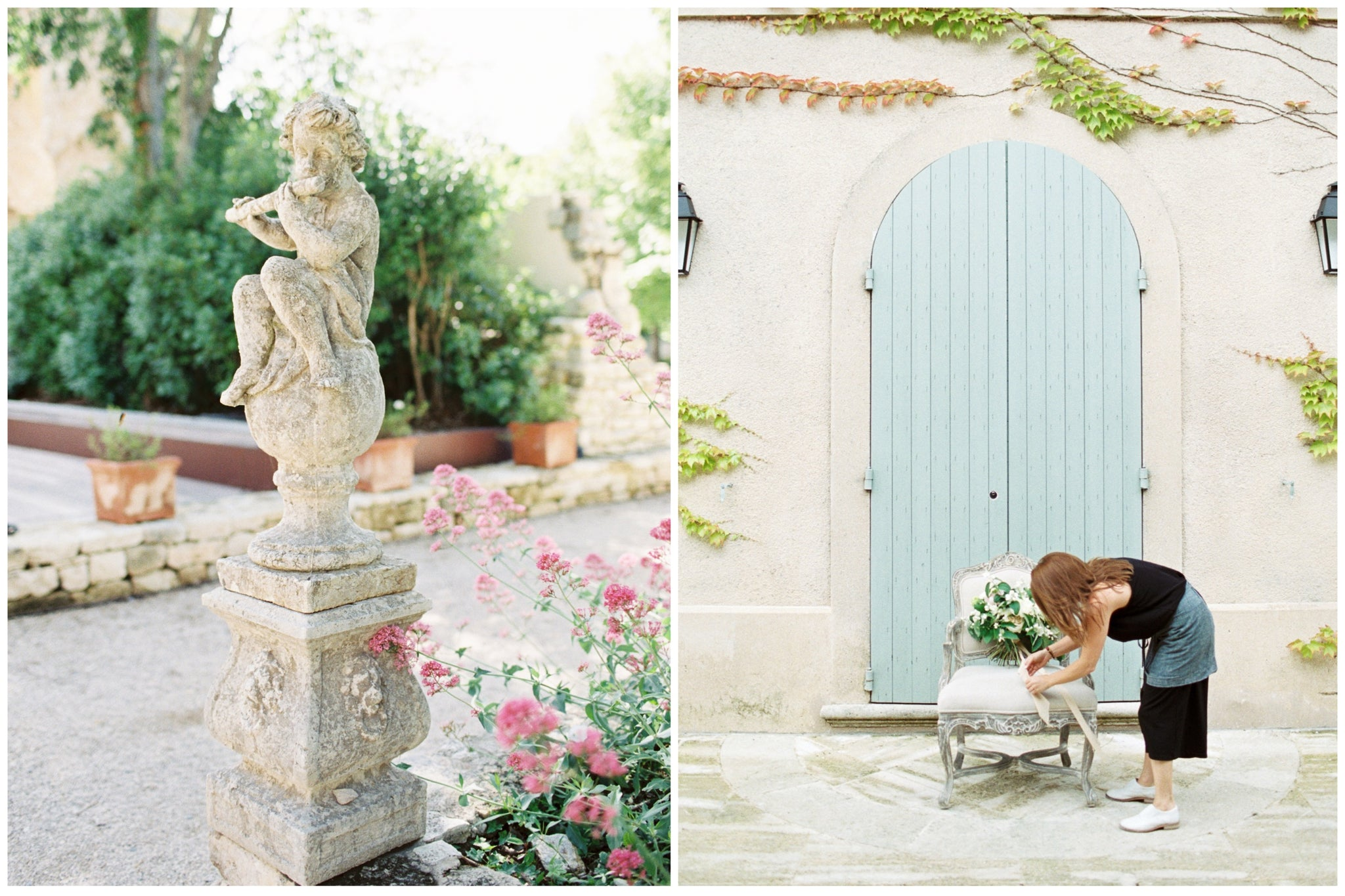 Katie Dean Jewelry, Provence, France Wedding, venue + flowers