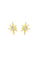 Little Dipper Star dainty stud earring, Katie Dean Jewelry