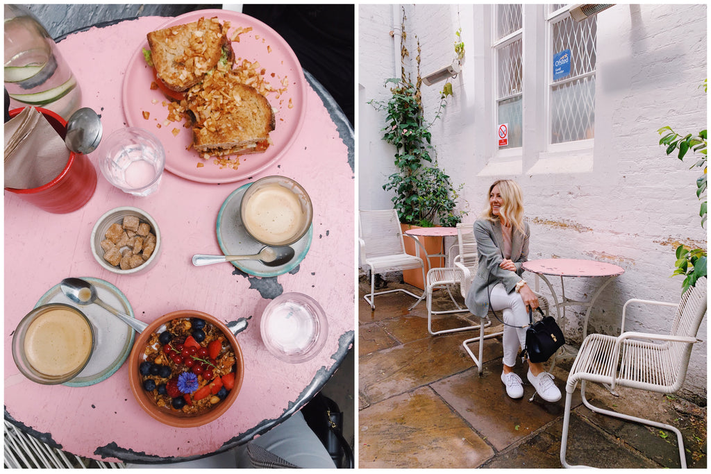 London Food Guide, Farmgirl Notting Hill, Katie Dean Travels
