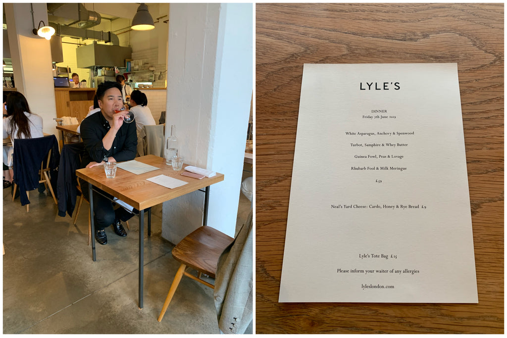 London Food Guide, Lyle's in Shoreditch