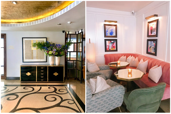 London Marylebone Hotel, Lobby and Lounge, Katie Dean Jewelry Travel Guide