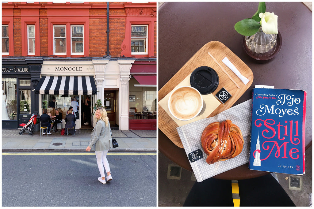Katie Dean at Monocle Coffee, Marylebone London England