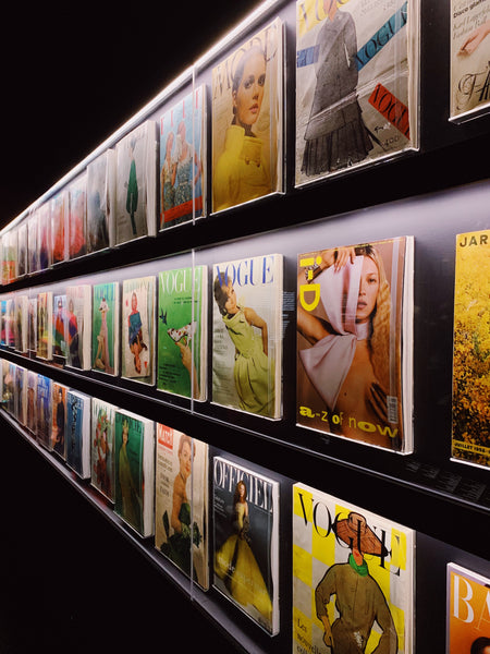 London Travel Guide, Christian Dior, Designer of Dreams Exhibition, Victoria Albert Museum, Magazine Covers
