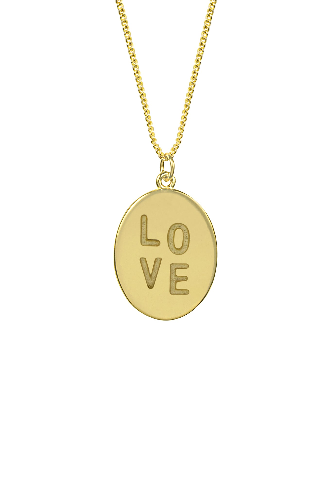 Love Charm Necklace, Katie Dean Jewelry